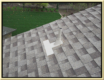 photo of a finished roof repair we did in trabuco canyon